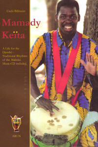 Book and CD: A Life for the Djembe - Traditional Rhythms of the Malinke by Mamady Keita